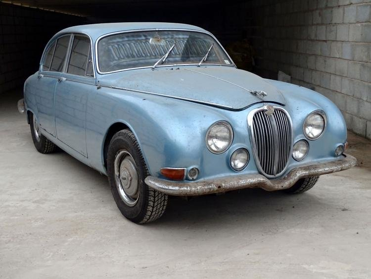 1966 Rare Jaguar s type Manual with o/d  For Sale (picture 1 of 6)