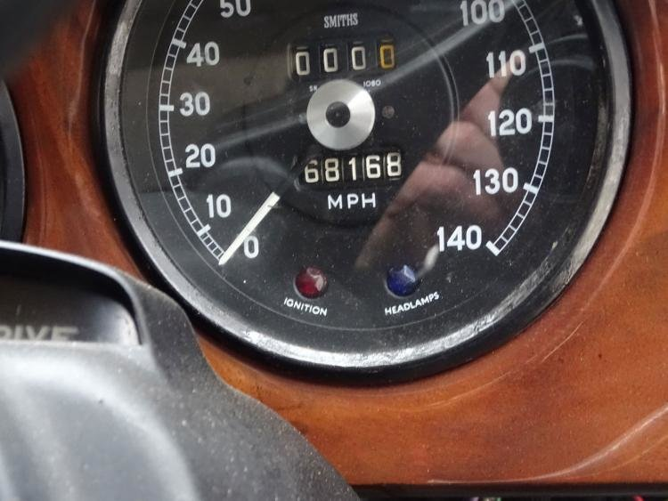 1966 Rare Jaguar s type Manual with o/d  For Sale (picture 5 of 6)