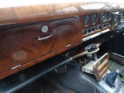 1966 Rare Jaguar s type Manual with o/d  For Sale (picture 6 of 6)