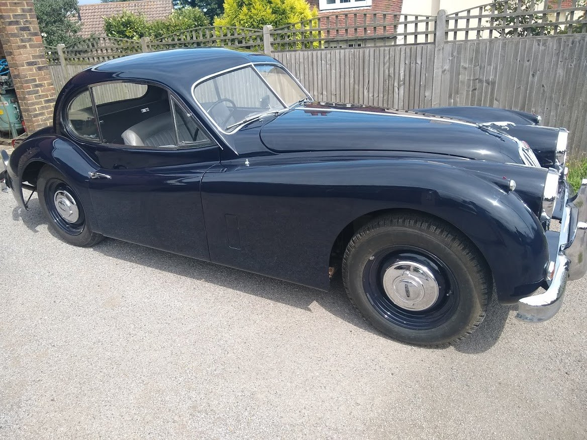 1955 Jaguar XK140 FHC for Auction Friday 25th October  For Sale by Auction (picture 1 of 6)