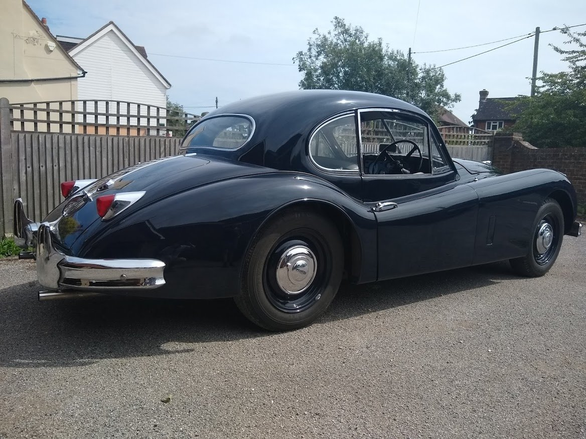 1955 Jaguar XK140 FHC for Auction Friday 25th October  For Sale by Auction (picture 2 of 6)