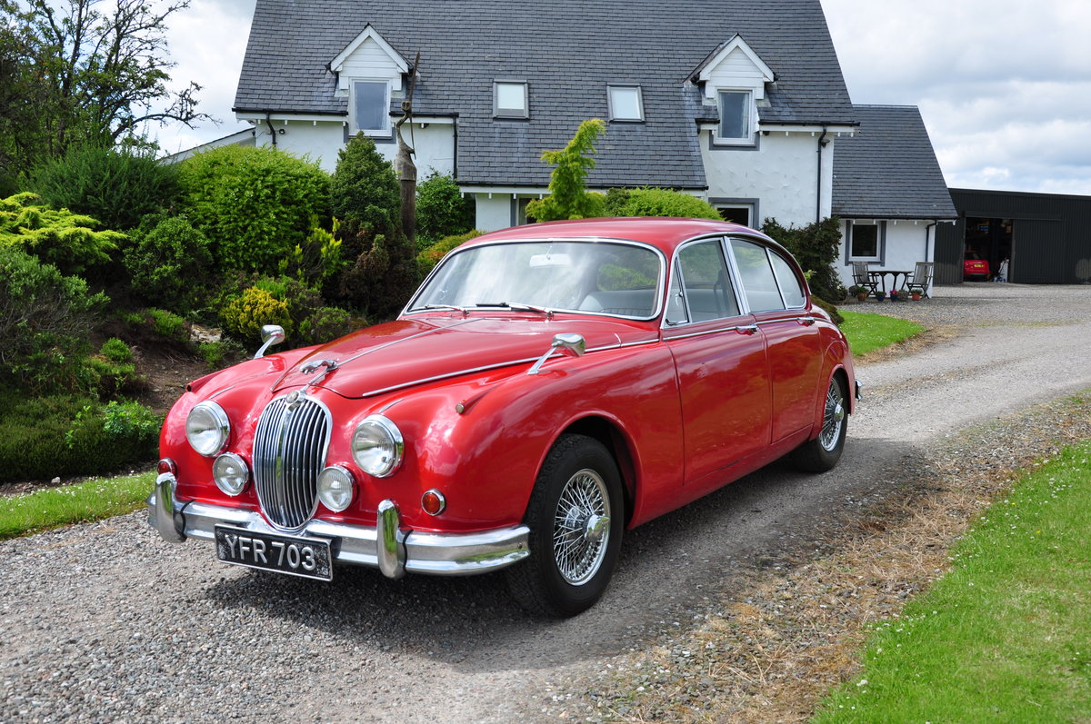 1962 JAGUAR Mk2 RHD 2.4 with Overdrive For Sale (picture 1 of 6)