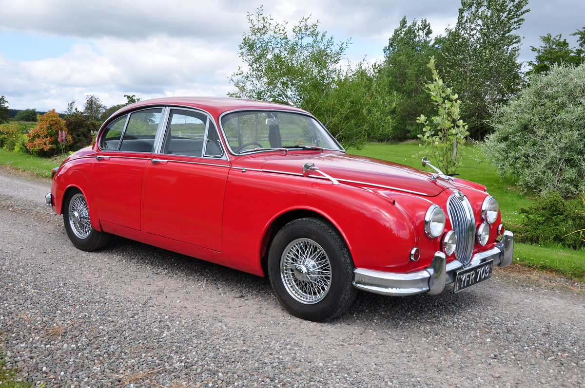 1962 JAGUAR Mk2 RHD 2.4 with Overdrive For Sale (picture 2 of 6)