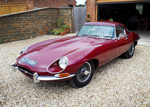 1970 Jaguar E-Type 4.2 SII Roadster Just £40,000 - £45,000