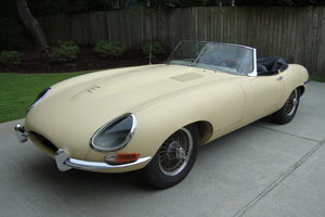 1962 Jaguar E Type Roadster Project car.