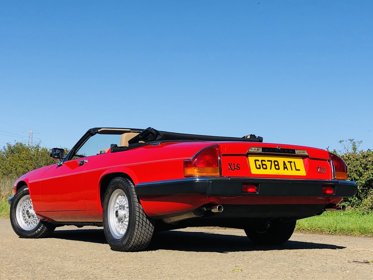 1989 Jaguar XJS 5.3L V12 Convertible 18000 miles only. For Sale (picture 1 of 6)