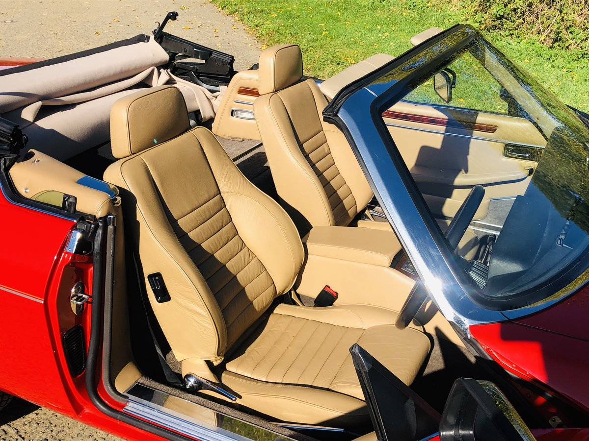 1989 Jaguar XJS 5.3L V12 Convertible 18000 miles only. For Sale (picture 5 of 6)