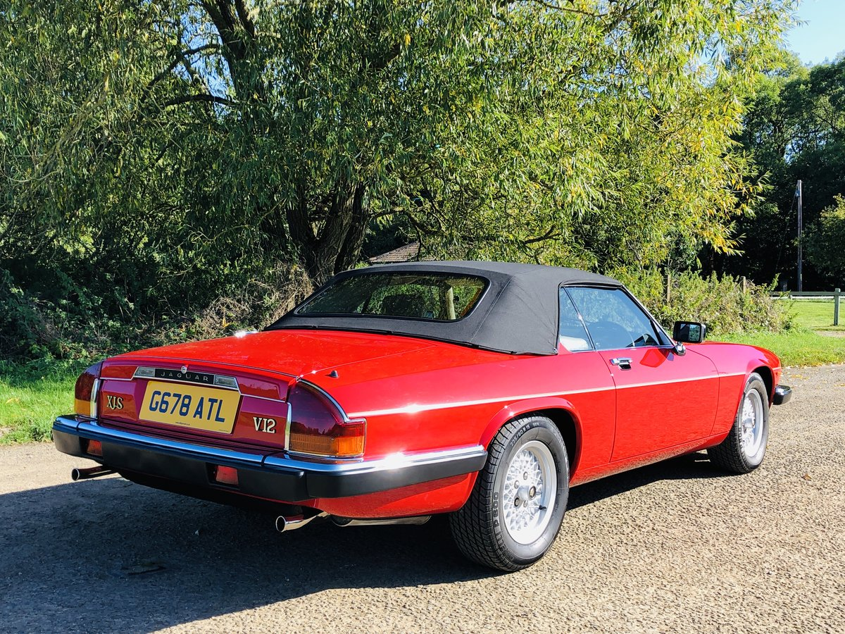1989 Jaguar XJS 5.3L V12 Convertible 18000 miles only. For Sale (picture 6 of 6)