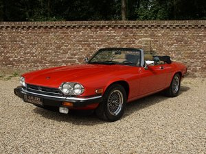 1989 Jaguar XJS V12 Convertible only 12.924 miles from new, facto
