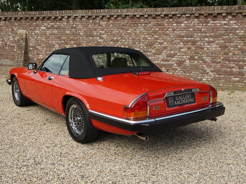 1989 Jaguar XJS V12 Convertible only 12.924 miles from new, facto For Sale (picture 2 of 6)