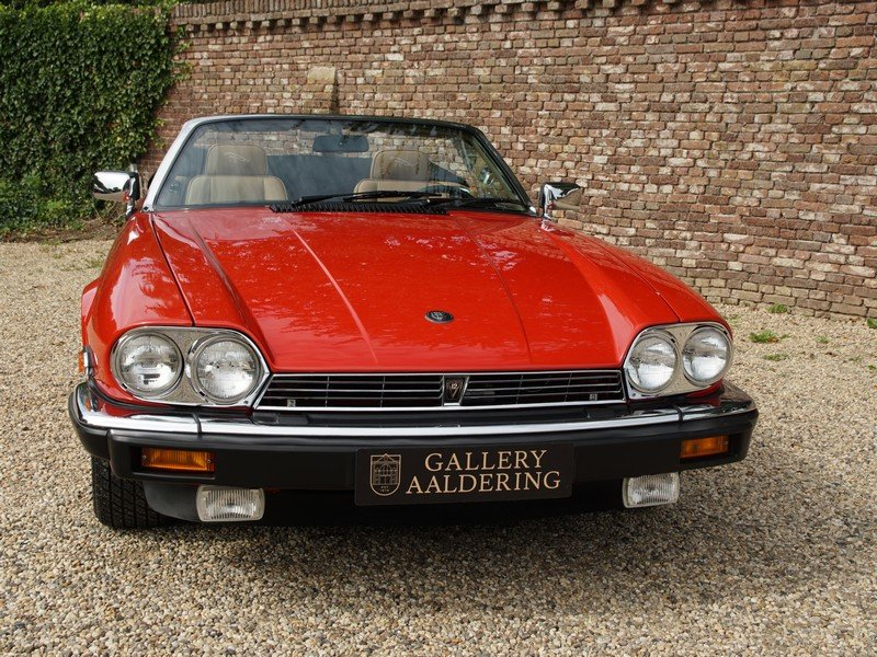 1989 Jaguar XJS V12 Convertible only 12.924 miles from new, facto For Sale (picture 5 of 6)