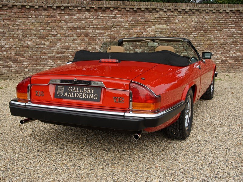 1989 Jaguar XJS V12 Convertible only 12.924 miles from new, facto For Sale (picture 6 of 6)