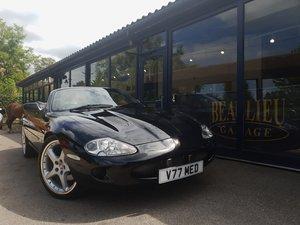 1999 Jaguar XKR convertible