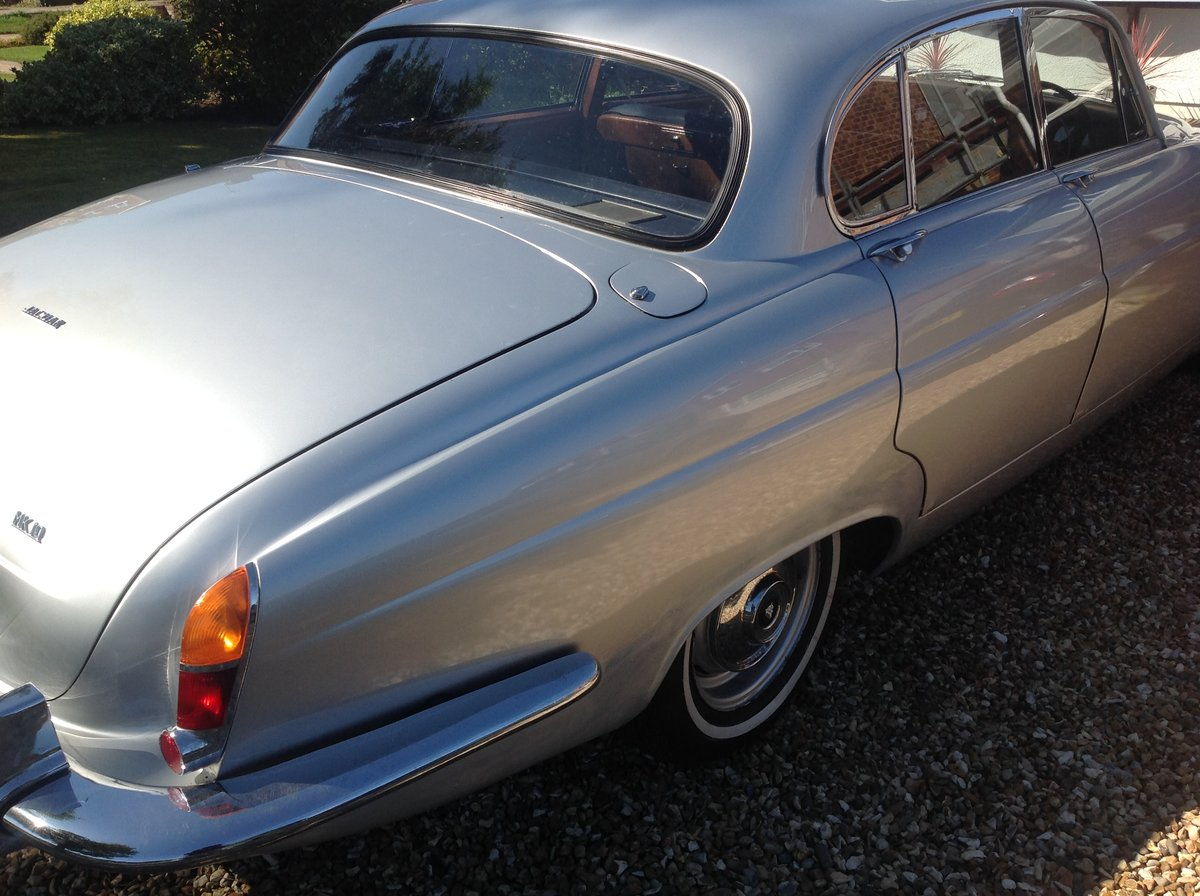 1963 Jaguar Mk10 manual 5 speed Silver one previous own For Sale (picture 3 of 6)