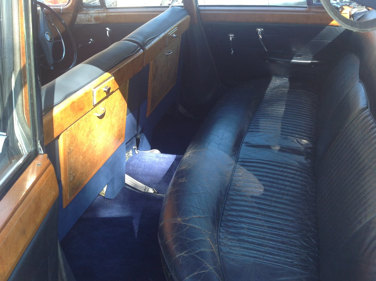 1963 Jaguar Mk10 manual 5 speed Silver one previous own For Sale (picture 5 of 6)