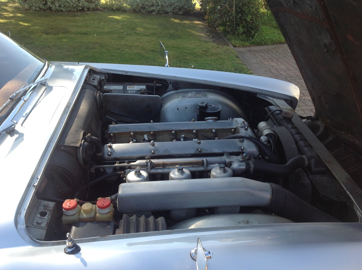 1963 Jaguar Mk10 manual 5 speed Silver one previous own For Sale (picture 6 of 6)