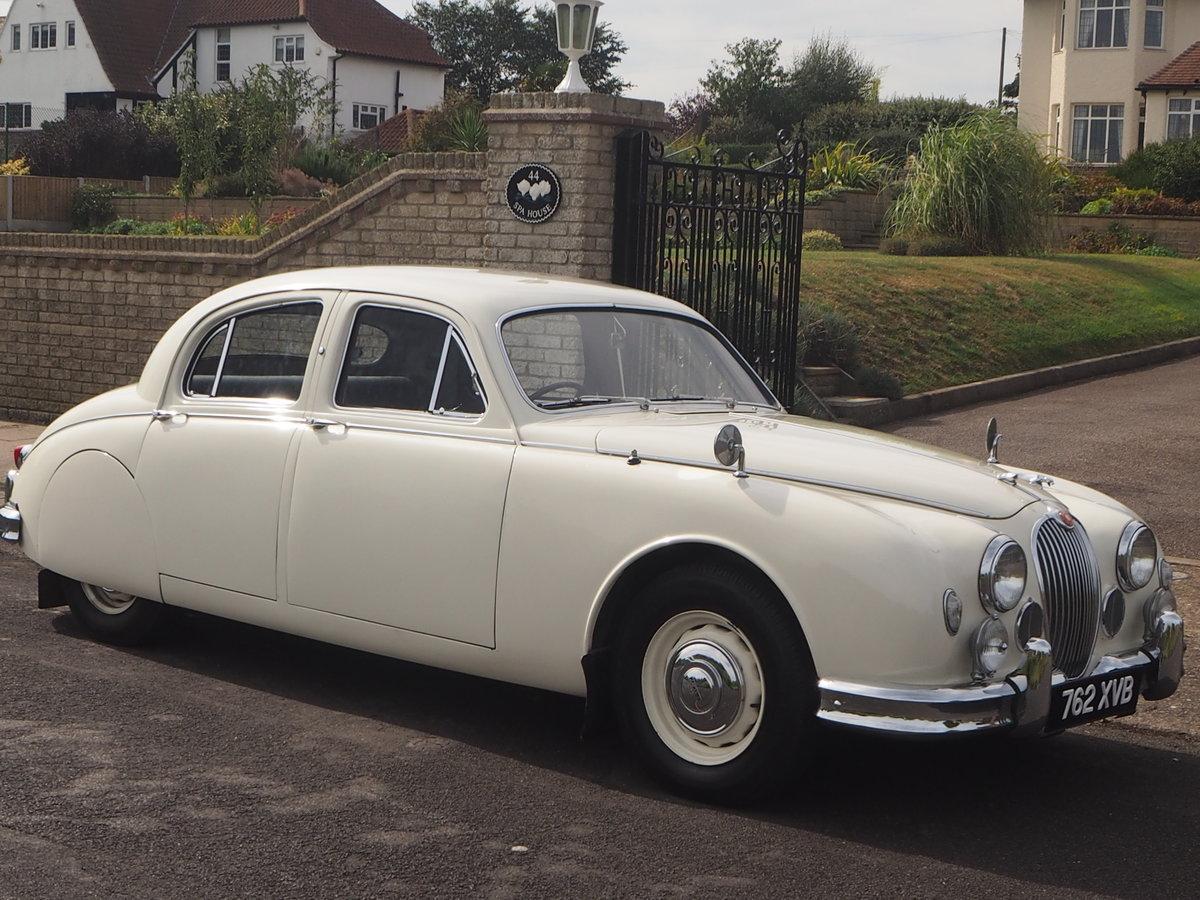1958 Jaguar Mark 1 in pristine condition For Sale (picture 1 of 6)