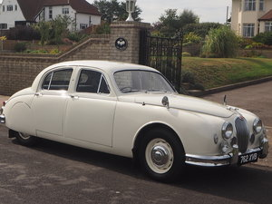 1958 Jaguar Mark 1 in pristine condition