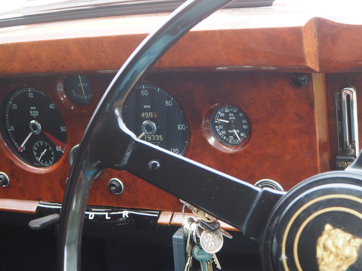 1958 Jaguar Mark 1 in pristine condition For Sale (picture 5 of 6)