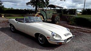 1969 Jaguar E Type Series 2 Roadster For Sale