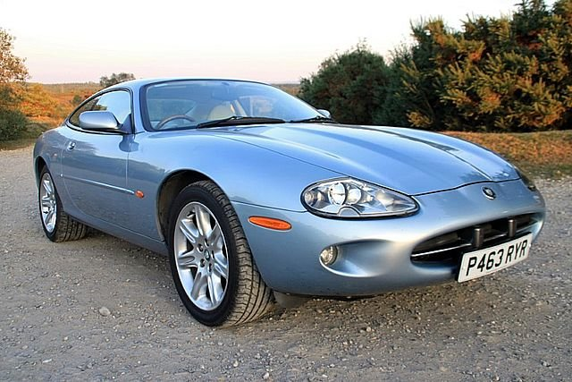 1997 Jaguar XK8 4.0 Coupe (Just 64,000 Miles) For Sale (picture 1 of 6)