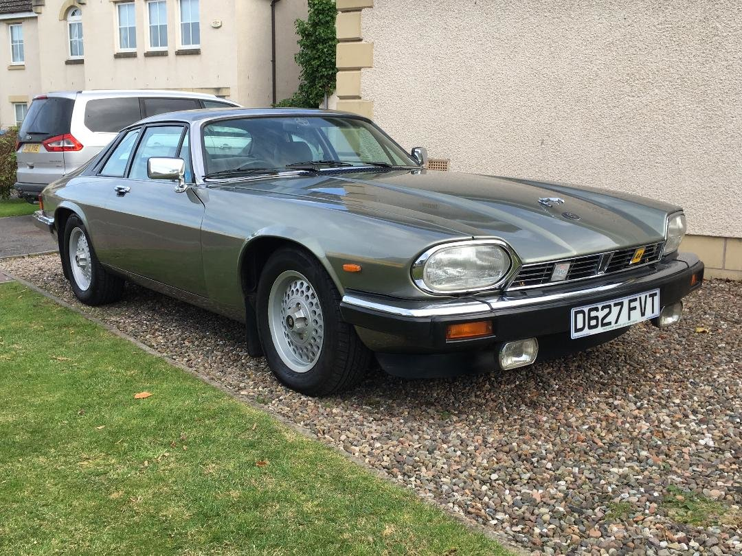 1987 Jaguar XJS  Manual ( The Green Lady) For Sale (picture 1 of 6)