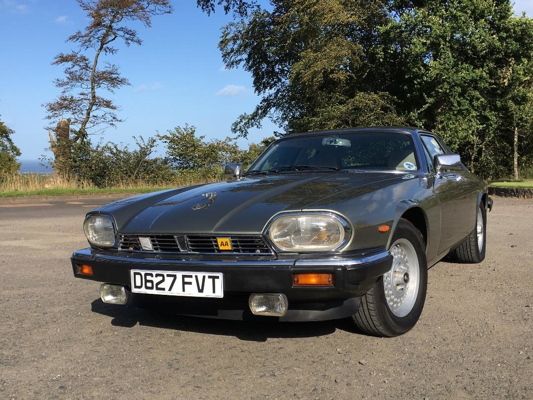 1987 Jaguar XJS  Manual ( The Green Lady) For Sale (picture 3 of 6)