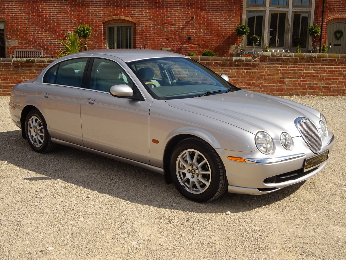 JAGUAR S -TYPE 2.5 AUTO 2002 COVERED 83K MILES FROM NEW  For Sale (picture 1 of 6)