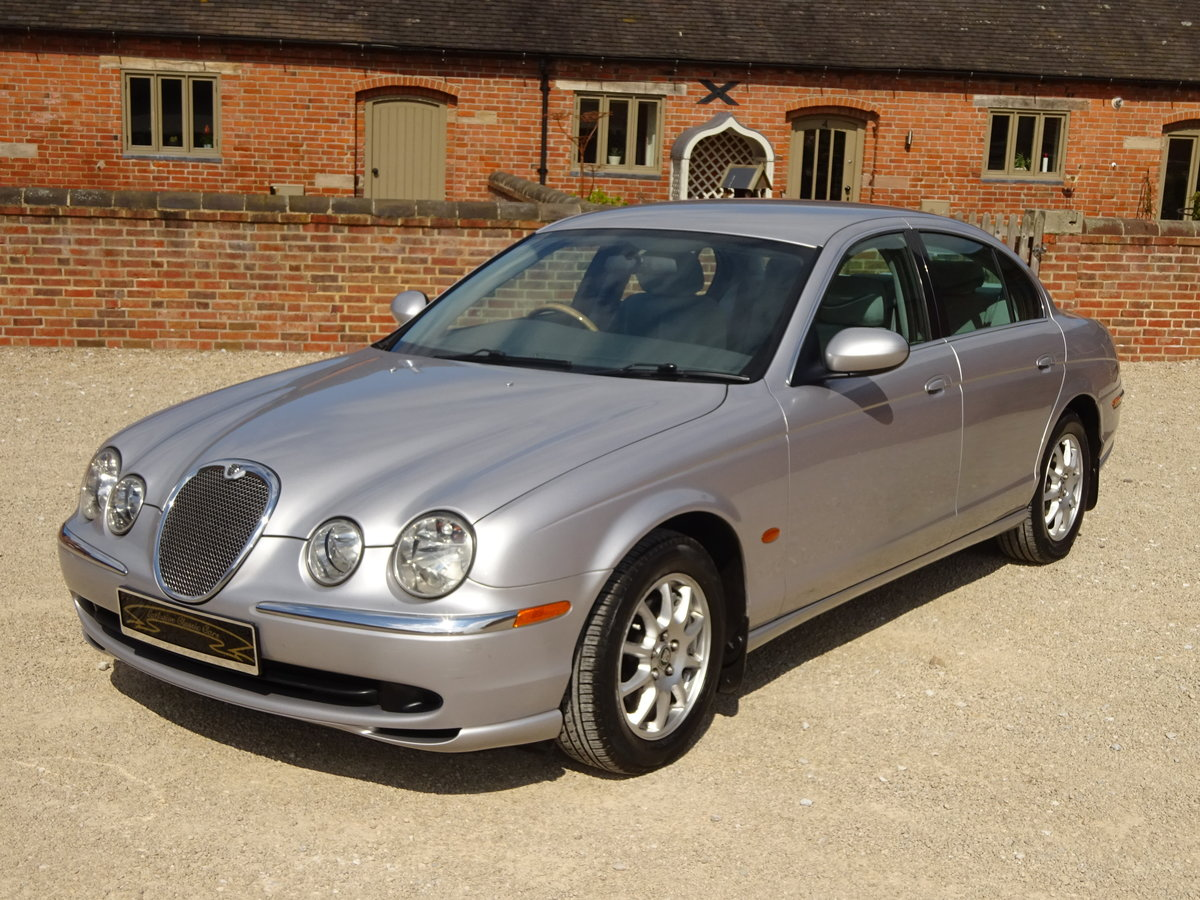 JAGUAR S -TYPE 2.5 AUTO 2002 COVERED 83K MILES FROM NEW  For Sale (picture 5 of 6)
