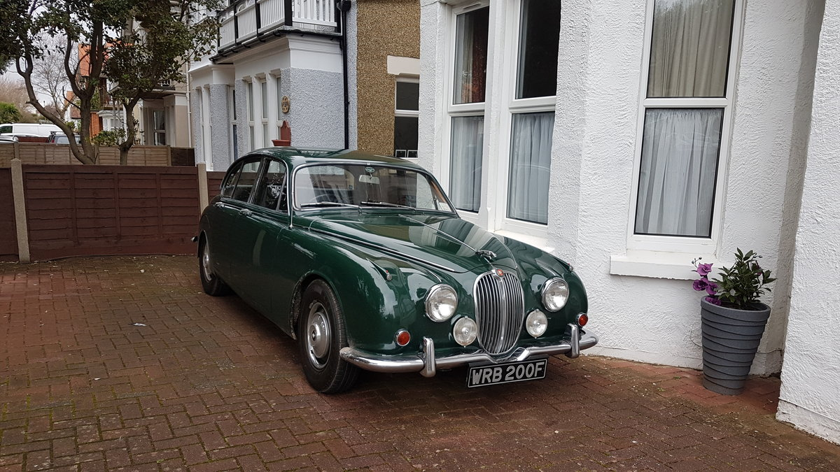 1968 Jaguar Mk2 240 Green For Sale (picture 1 of 4)