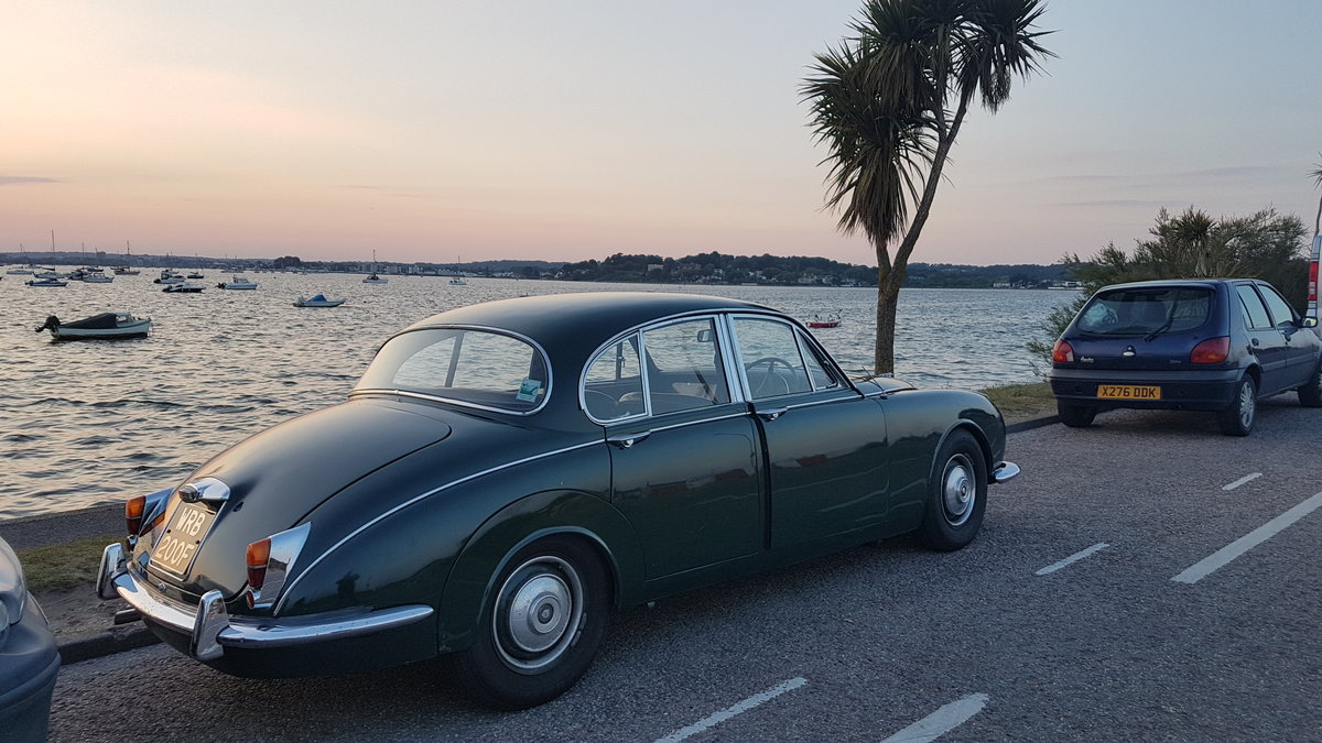 1968 Jaguar Mk2 240 Green For Sale (picture 4 of 4)