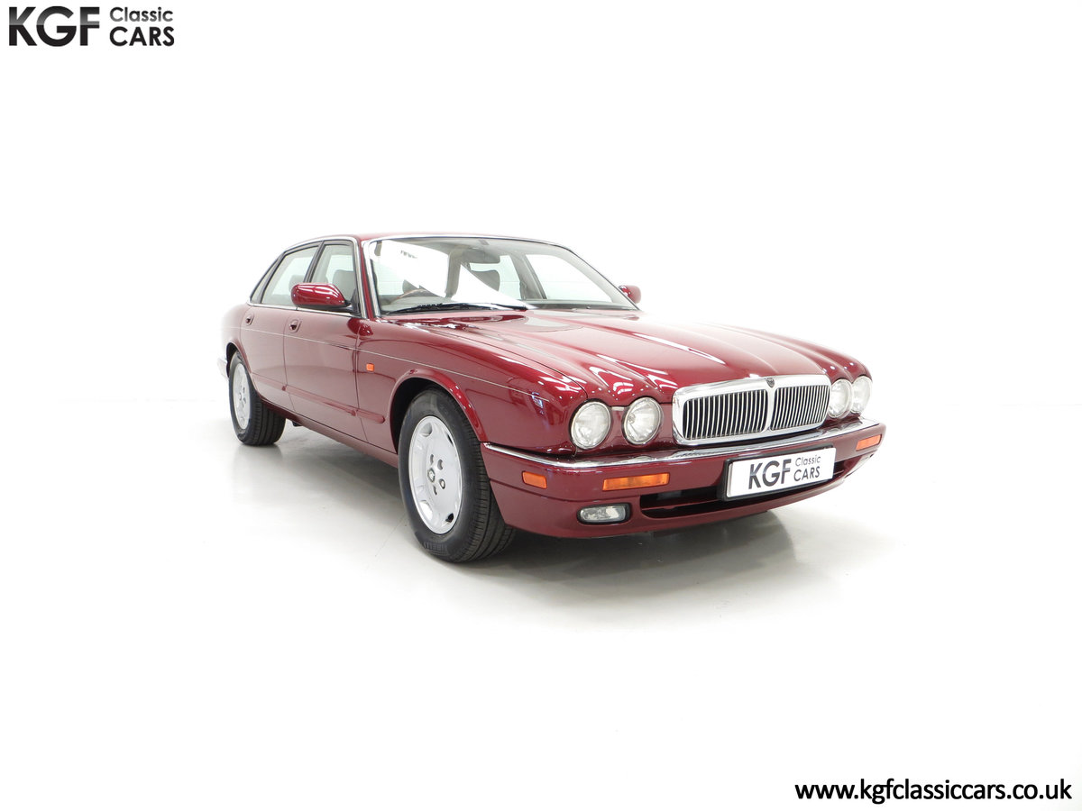 1997 An Opulent Jaguar XJ Executive 3.2 with 25,828 Miles SOLD (picture 1 of 6)