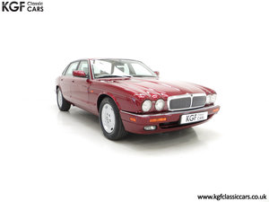 1997 An Opulent Jaguar XJ Executive 3.2 with 25,828 Miles