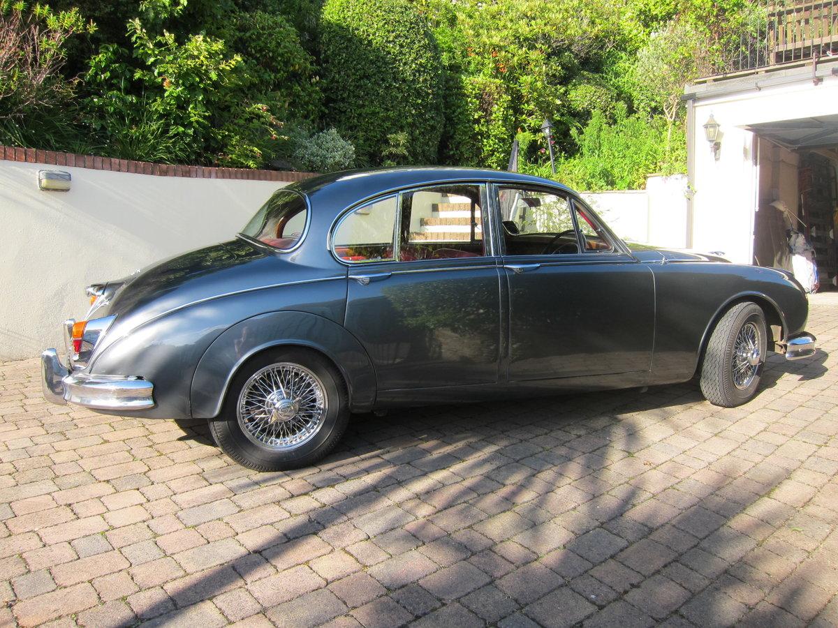 1963 Jaguar Mk 2, 3.4 litre, manual, RHD For Sale (picture 2 of 4)