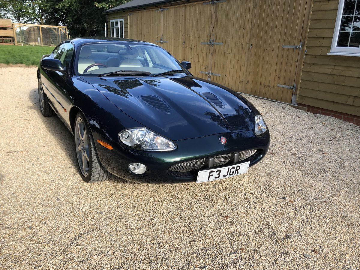 2001 Jaguar XKR 2dr Auto Sports Coupe For Sale (picture 1 of 6)