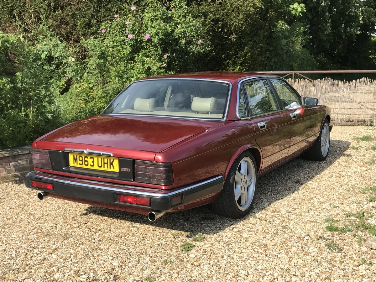 1994 Jaguar XJ40 4.0s Sport 85k long MOT low miles For Sale (picture 2 of 6)