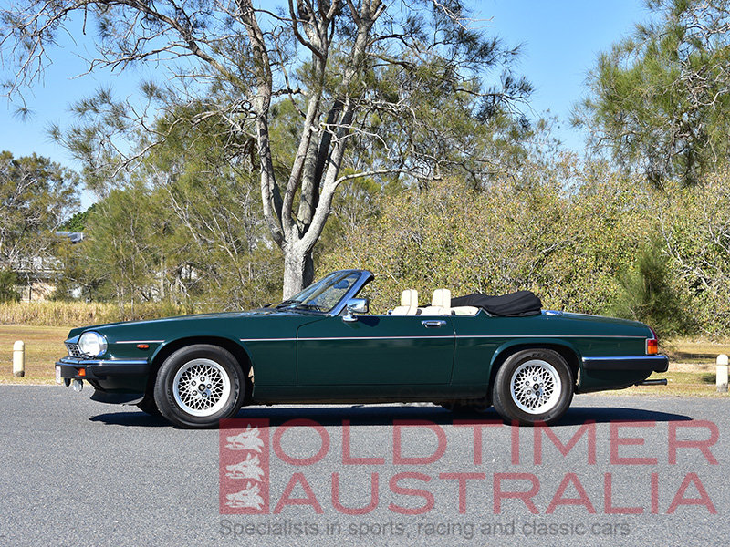 1990 Jaguar XJ-S V12 Convertible For Sale (picture 1 of 6)