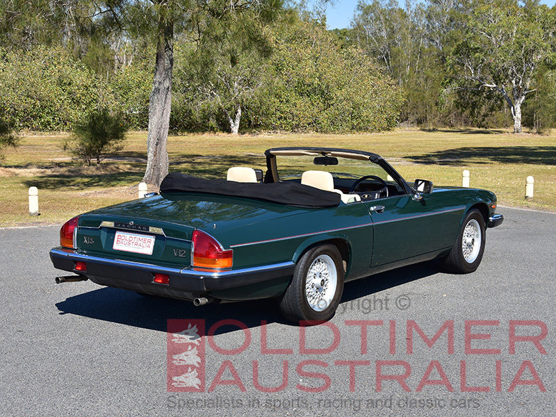 1990 Jaguar XJ-S V12 Convertible For Sale (picture 2 of 6)