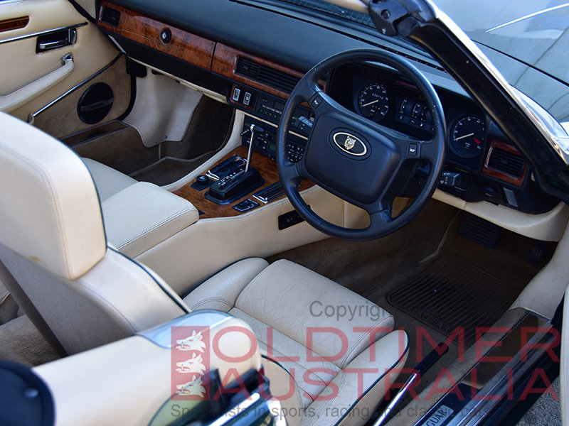 1990 Jaguar XJ-S V12 Convertible For Sale (picture 5 of 6)