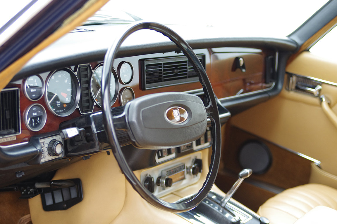 1976 Jaguar XJ 12 l MK II - LHD - from 2nd owner For Sale (picture 4 of 6)