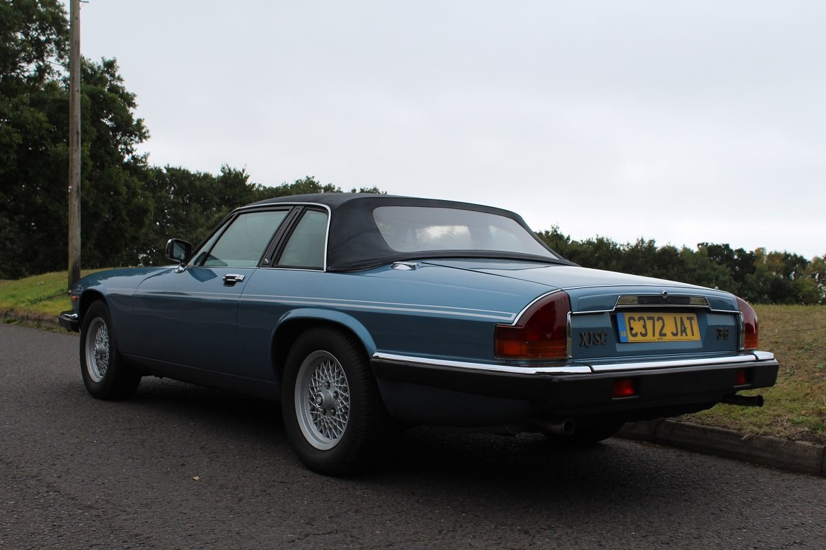 Jaguar XJS C 3.6 1986 - To be auctioned 25-10-19 For Sale by Auction (picture 2 of 6)