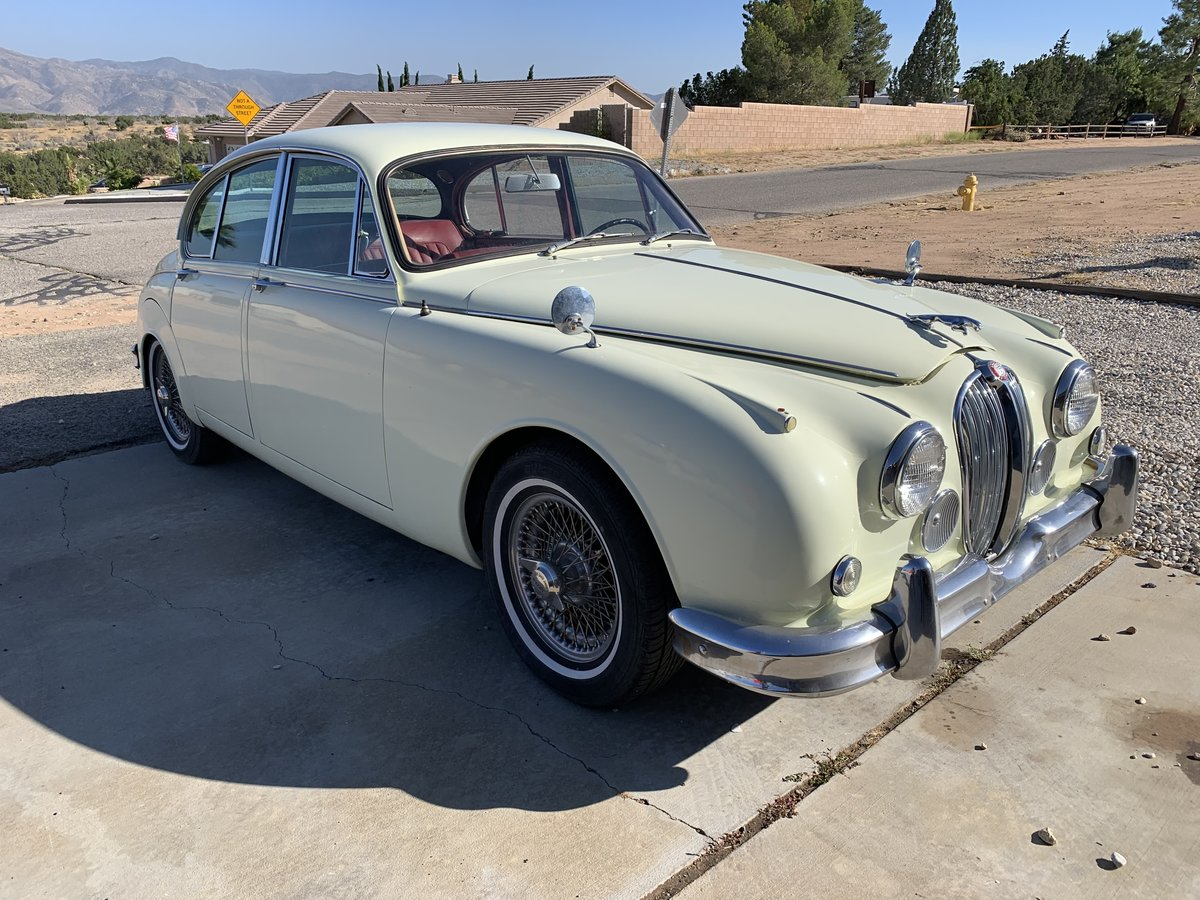 1962 Jaguar MkII 3.8 MoD LHD California Original 60,000miles For Sale (picture 1 of 4)