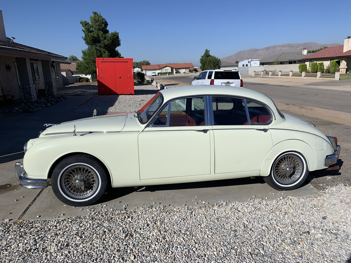 1962 Jaguar MkII 3.8 MoD LHD California Original 60,000miles For Sale (picture 3 of 4)