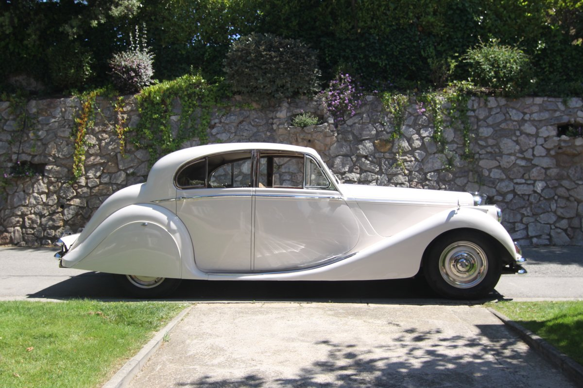 1950 Jaguar MkV 3,5 ltr left hand drive Sunroof Saloon For Sale (picture 1 of 1)