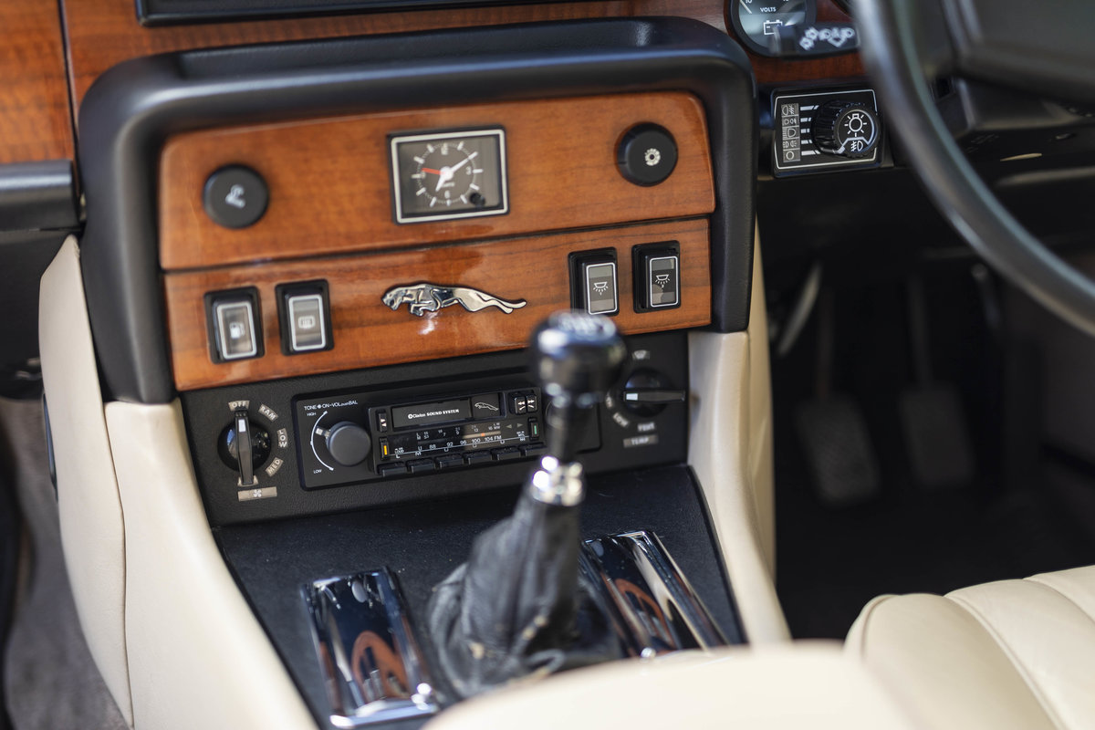 1985 JAGUAR XJ6 4.2 SERIES III, MANUAL ONLY 8200 MILES For Sale (picture 5 of 6)