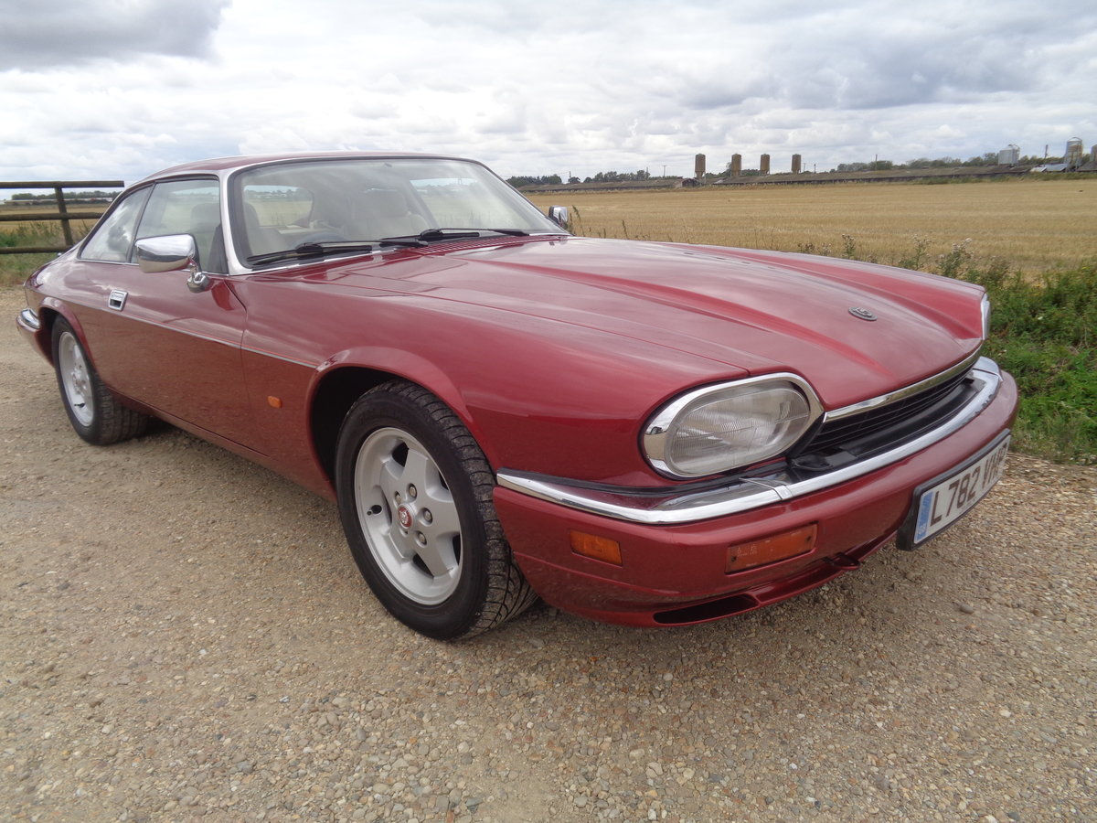 1994 Jaguar Xjs 4.0 coupe - very clean car !! For Sale (picture 1 of 6)
