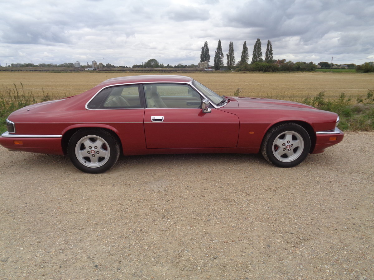 1994 Jaguar Xjs 4.0 coupe - very clean car !! For Sale (picture 3 of 6)