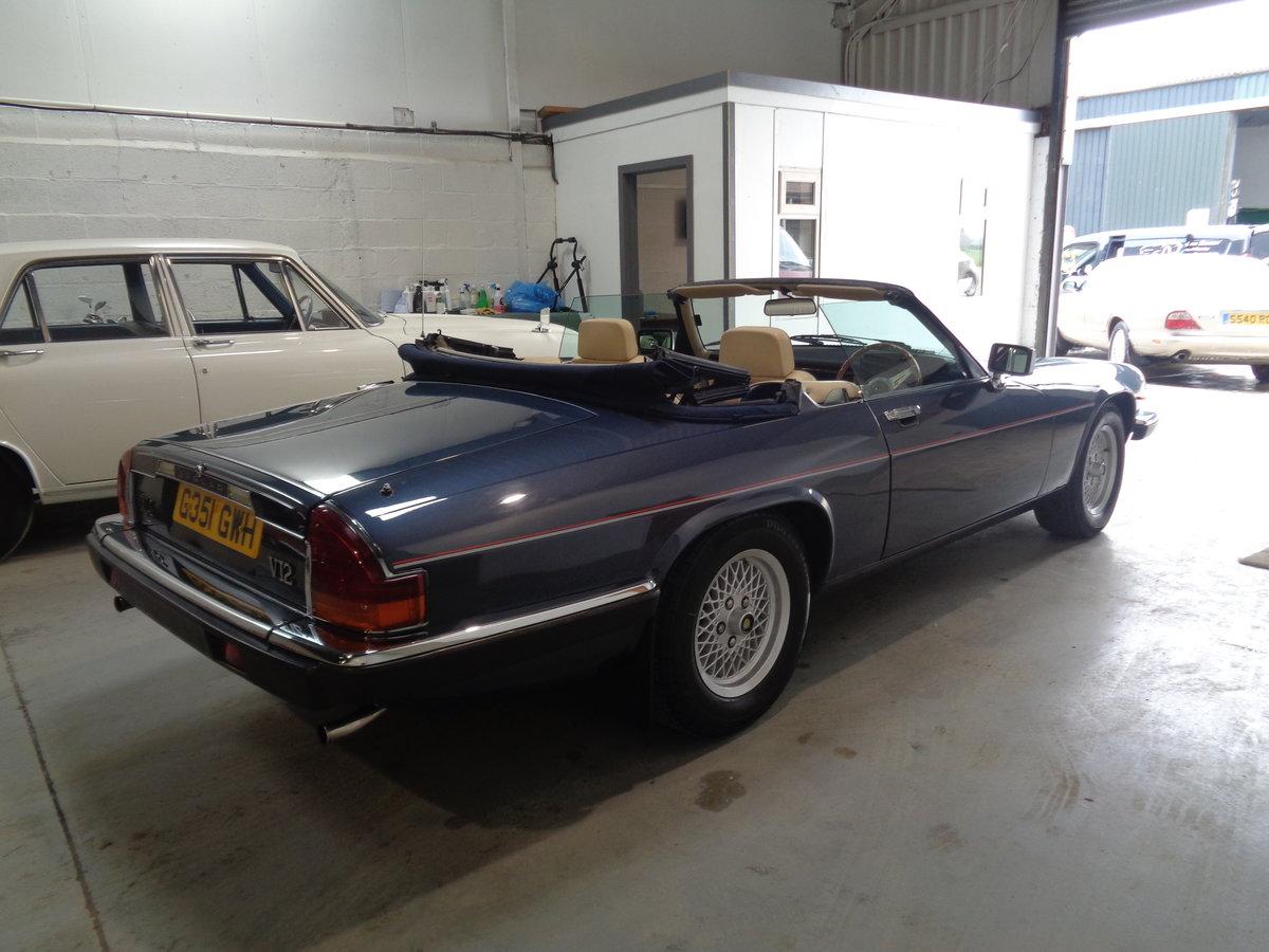 1990 Jaguar xjs convertible V12 5.3 AUTO  !! SOLD (picture 3 of 6)