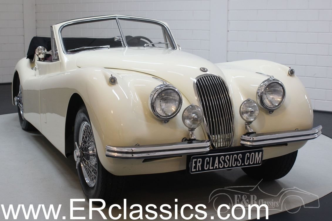 Jaguar XK 120 DHC 1954 Body off restored For Sale (picture 1 of 6)