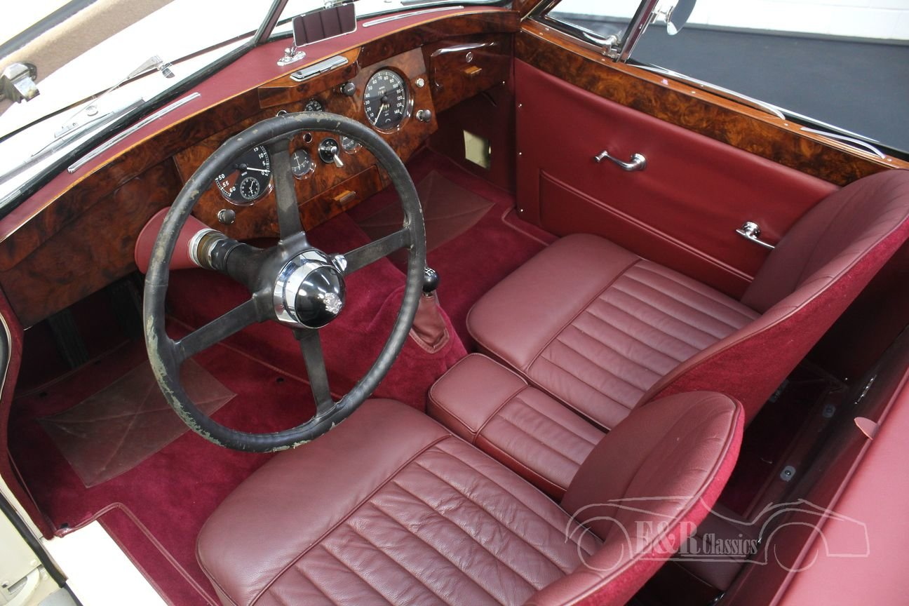Jaguar XK 120 DHC 1954 Body off restored For Sale (picture 3 of 6)